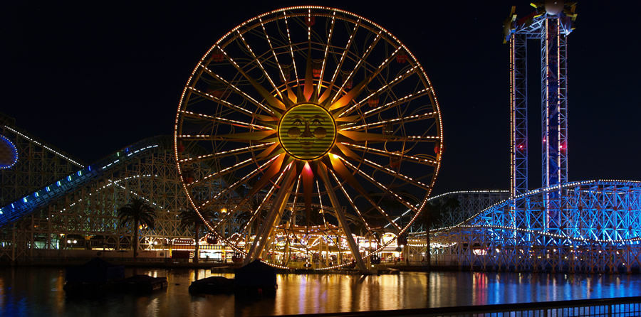 Disney California Adventures Sun Wheel